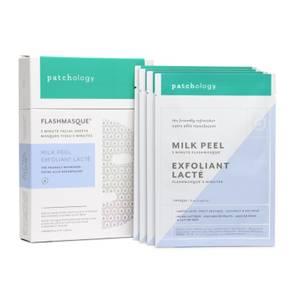 Bilde av FlashMasque 5 Minute Facial Sheets - Milk peel 1 Behandling