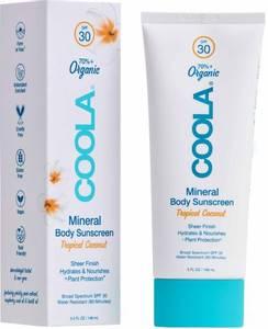 Bilde av  Mineral Body Organic Sunscreen Lotion SPF 30- Tropical Coconut